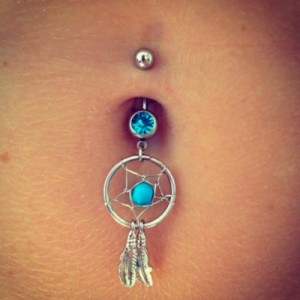 Belly Button Ring Rejection Care