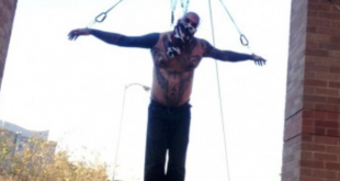 body suspension crucifix